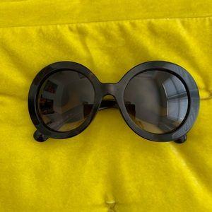 PRADA brown tortoise baroque sunglasses!
